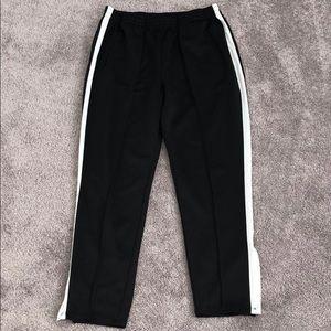 High waist track pants